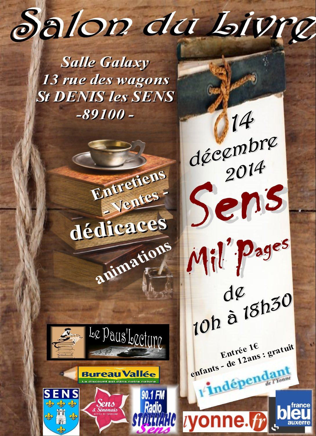 SENS Mil'Pages - 2014