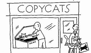 Copycat cartoon5