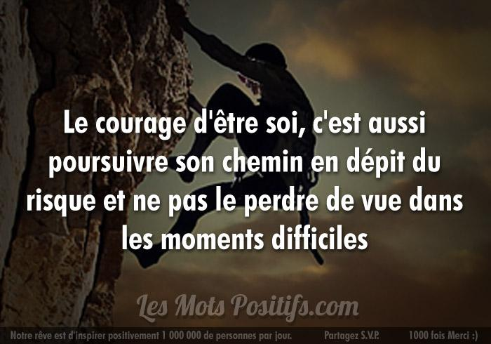 Courage soimeme